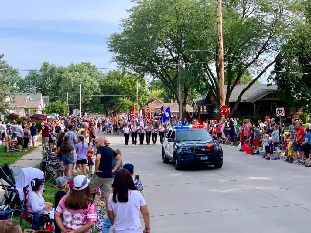 Adel Police Department at the 2019 Sweet Corn Festival.
