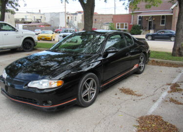 2005 Chevy Monte Carlo SS Tony Stewart Special Edition